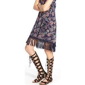 Sam Edelman • Black Gema Lace Up Gladiator Sandal